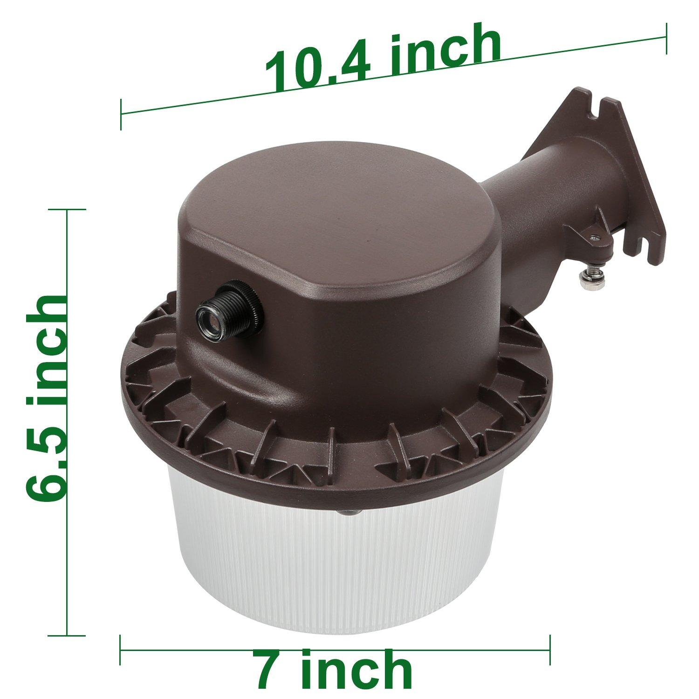 Hykolity 35W Dusk To Dawn LED Barn Light Outdoor Waterproof Yard Light Fixture