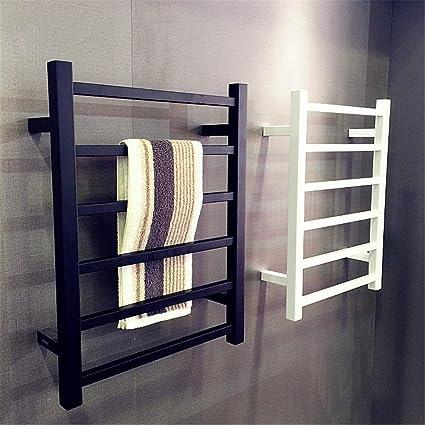 ZJINHUI Heated Towel Rails 6 Bars Waterproof