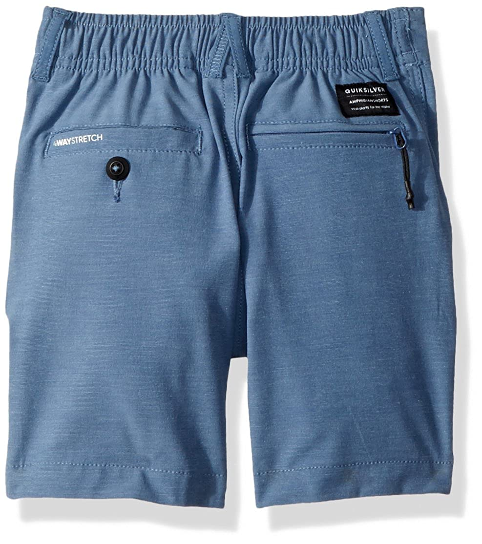 Quiksilver Little Union Heather Amphibian Boy 14 Hybrid Walk Short