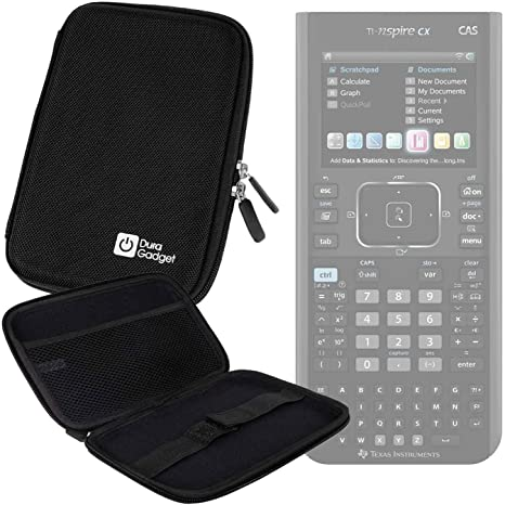 Hard Protective Case in Black for Texas Instruments TI-Nspire CX Calculator