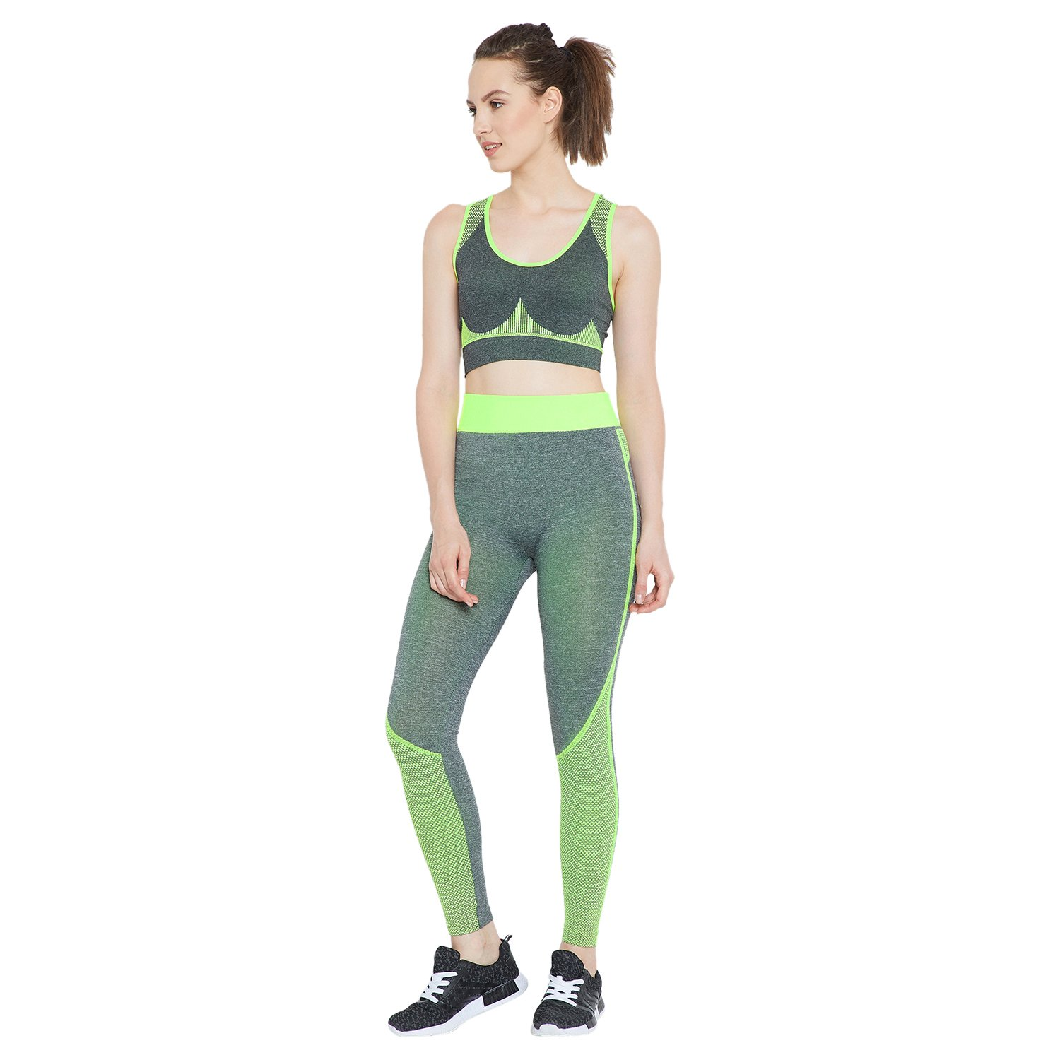 f8e51d003ed CAMEY Women s Synthetic Sport Set (Green