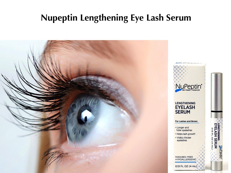 Amazon.com: NuPeptin Lengthening Eye Lash Serum - For visibly ...