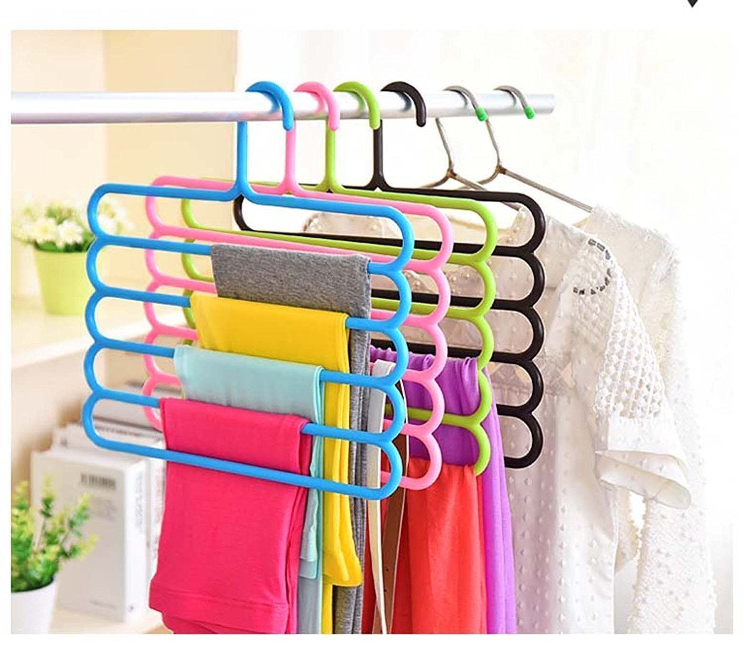 Connectwide Multipurpose Hanger For Shirts , Ties , Pants Space