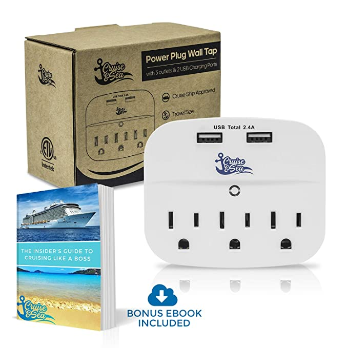 The Cruise Power Strip travel product recommended by Olivier Ganeff on Lifney.