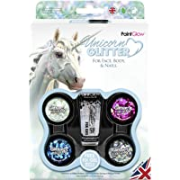Paintglow - Unicorn Chunky Glitter Face Paint Stick - 1 boxset