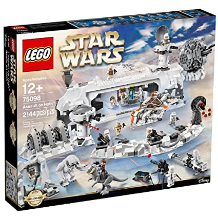 Amazon.com: LEGO Star Wars Assault on Hoth 75098 Star Wars Toy: Toys ...