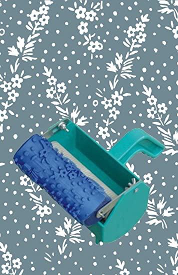 Bueer 5 Patterned Paint Roller Decorative Texture Roller With