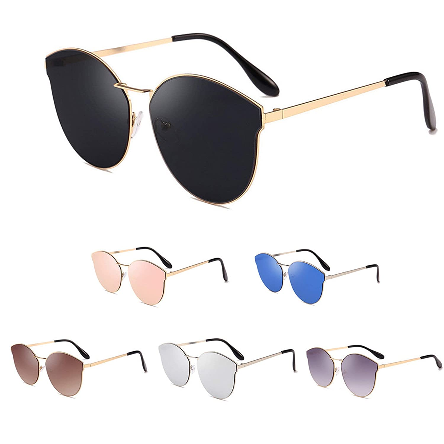 b4c0db0c696 Amazon.com  HOT SALE! BYEEE Lucky your eyes - Retro Sunglasses ...