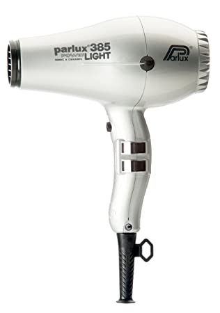 Amazon.com: Parlux 385 Powerlight Ionic & Ceramic Silver Hair Blow Dryer: Health & Personal Care