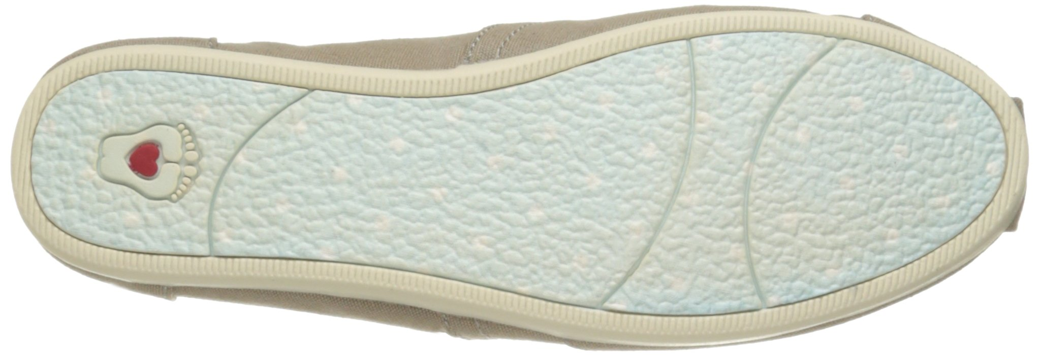 Skechers BOBS Women's Plush-Peace and Love Flat, Taupe, 8.5 W US by Skechers (Image #3)
