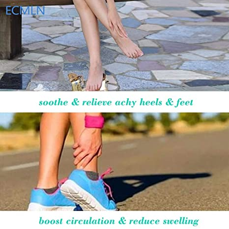 Amazon.com: Circulation Swelling Relief ECMLN Foot Sleeve Mens Socks|Relief Compression Socks: Health Is Wealth Anti Fatigue Medical Sock Sleeve for Men ...