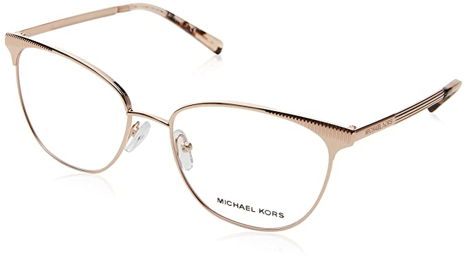 b3912b3bb2 Image Unavailable. Image not available for. Color  Eyeglasses Michael Kors  MK 3018 1194 ROSE GOLD-TONE