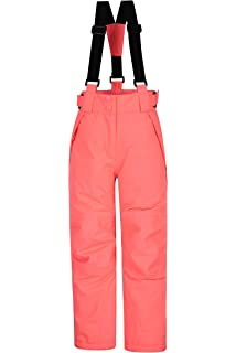 eec978f27 Mountain Warehouse Falcon Extreme Kids Ski Pants – Taped Seams Bottoms,  Waterproof…