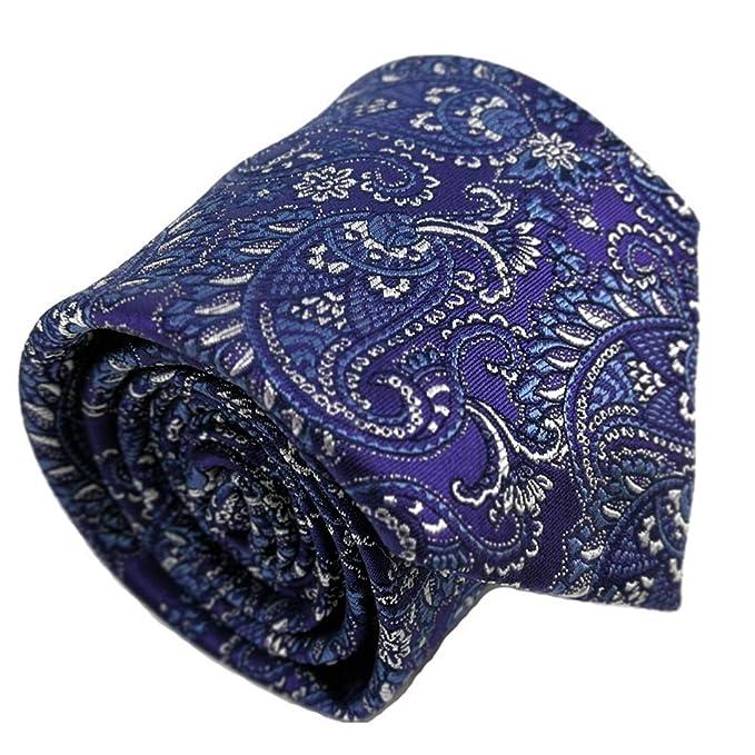 corbatas paisley de hombre morada corbatas cachemir corbatas de ...