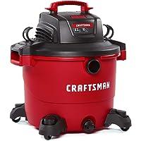 CRAFTSMAN CMXEVBE17595 16 Gallon 6.5 Peak HP Wet/Dry Vac, Heavy-Duty Shop Vacuum with Attachments