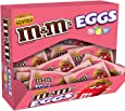M&M's Easter Peanut Butter Chocolate Candy Speckled Eggs, 31.2 Ounce (Pack of 24)