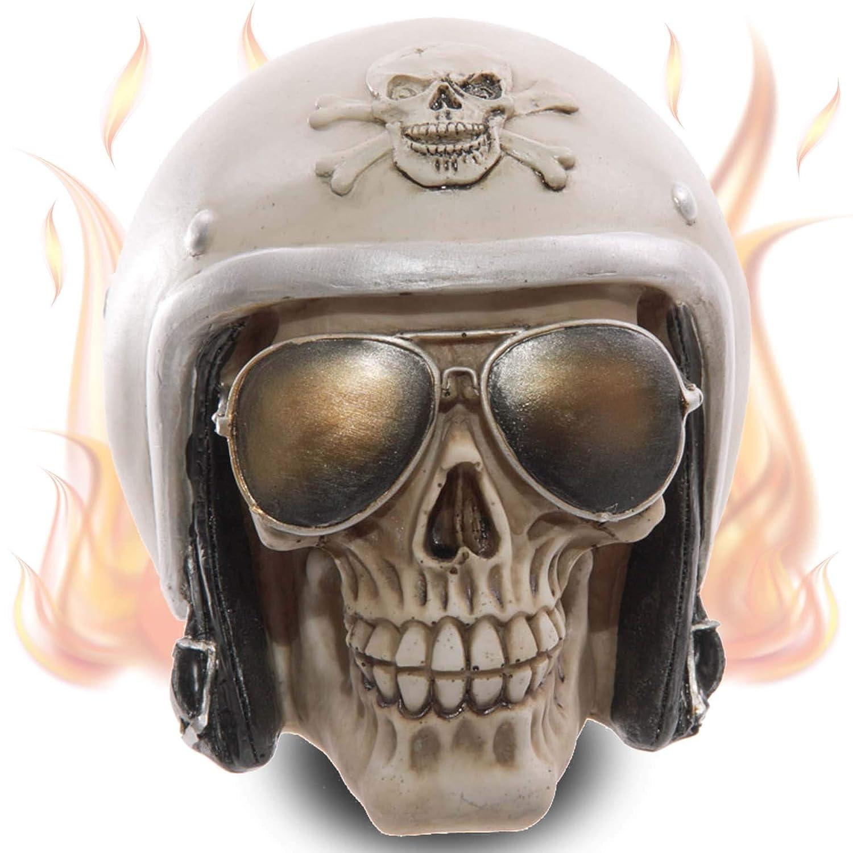 mtb more energy Cráneo Ghost Biker cráneo Decorativo al ...