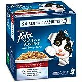 Felix Katzennassfutter So gut wie es aussieht Fleisch Mix 100 g , 24er Pack (24 x 100 g)