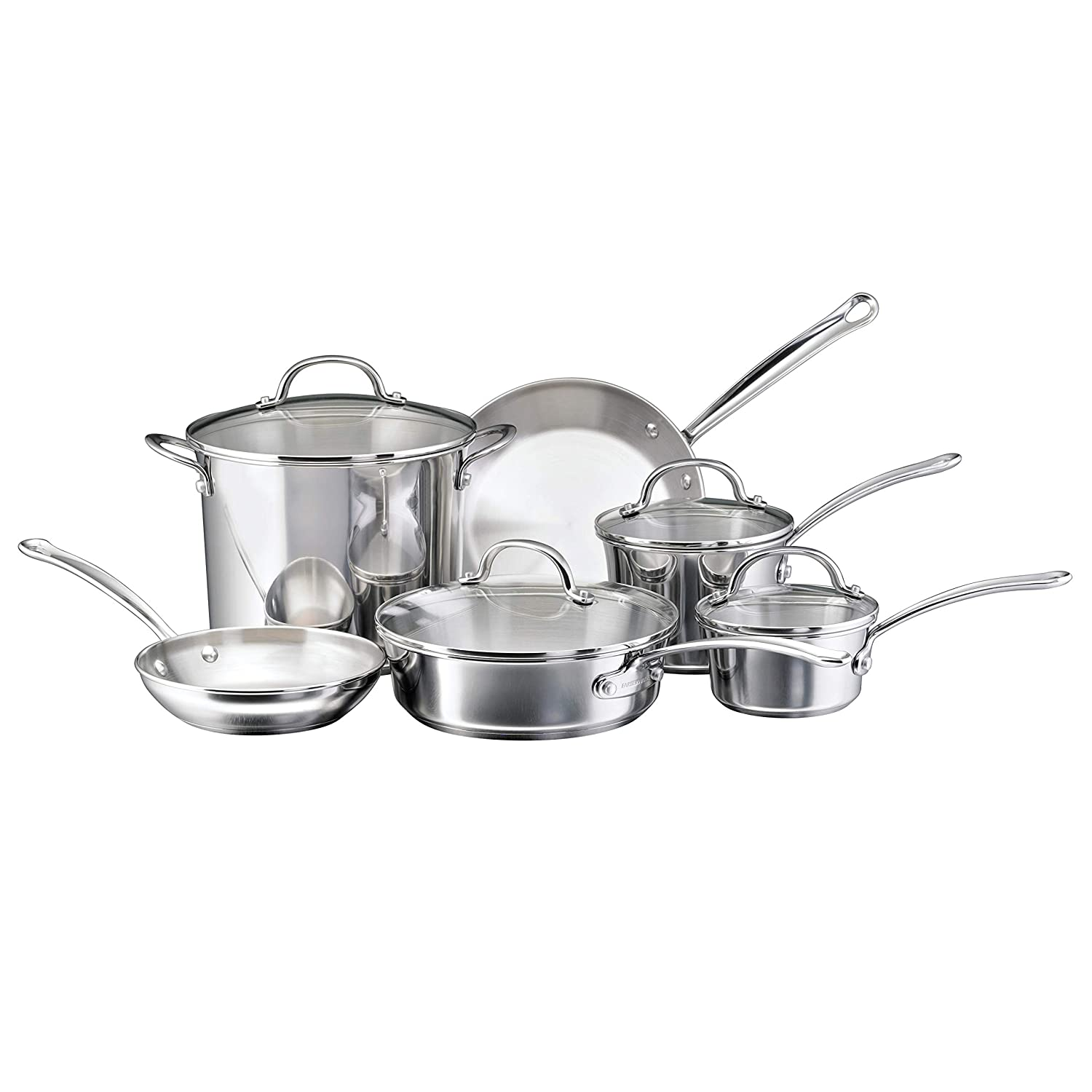 Farberware Millenium 10-piece Non-stick Pots and Pans Set