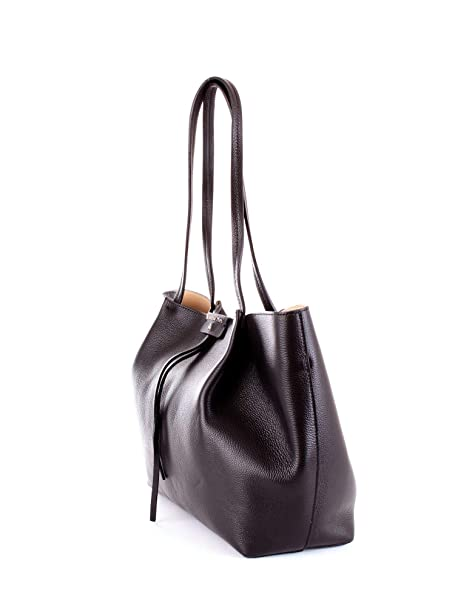 PATRIZIA PEPE Borsa Shopping Donna 2V8896a4u8k103 Pelle Nero