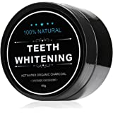 All Natural Teeth Whitening Powder with Coconut Activated Charcoal - Organic Safe Effective Tooth Whitener Solution for Stronger Healthy Whiter Teeth with Ebook Instructions.