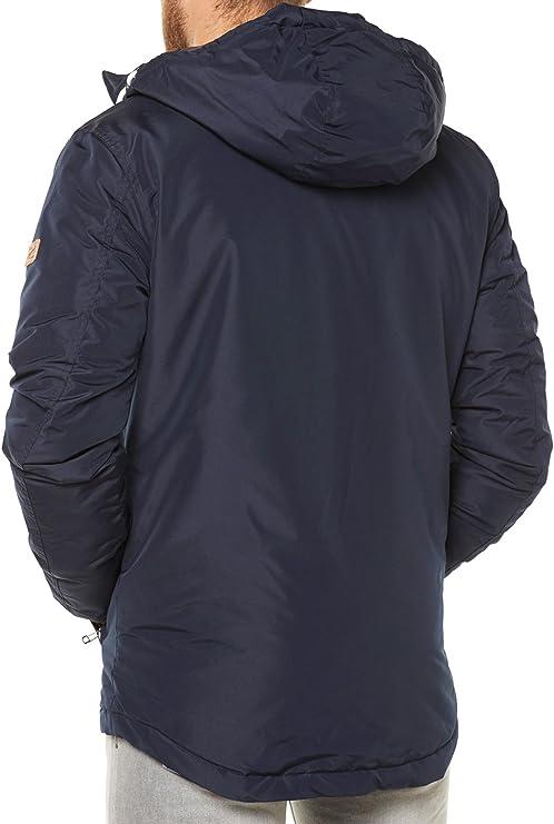 JACK /& JONES Blu Scuro Blazer Giacca Con Cappuccio Nuova Canyon