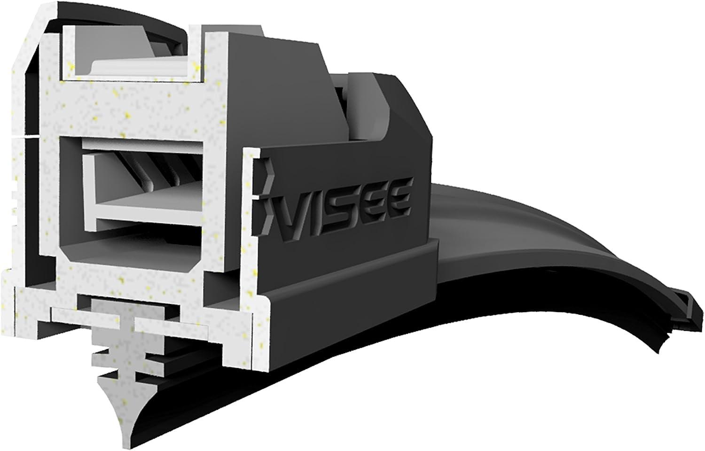 siehe Beschreibung jeweiliger Variante ganzj/ährige Nutzung; Fassung und L/änge: C 600//480 mm Set von 2 VISEE hochwertigen lizenzierten Ersatzwischerbl/ätter f/ür angegebene Automodelle