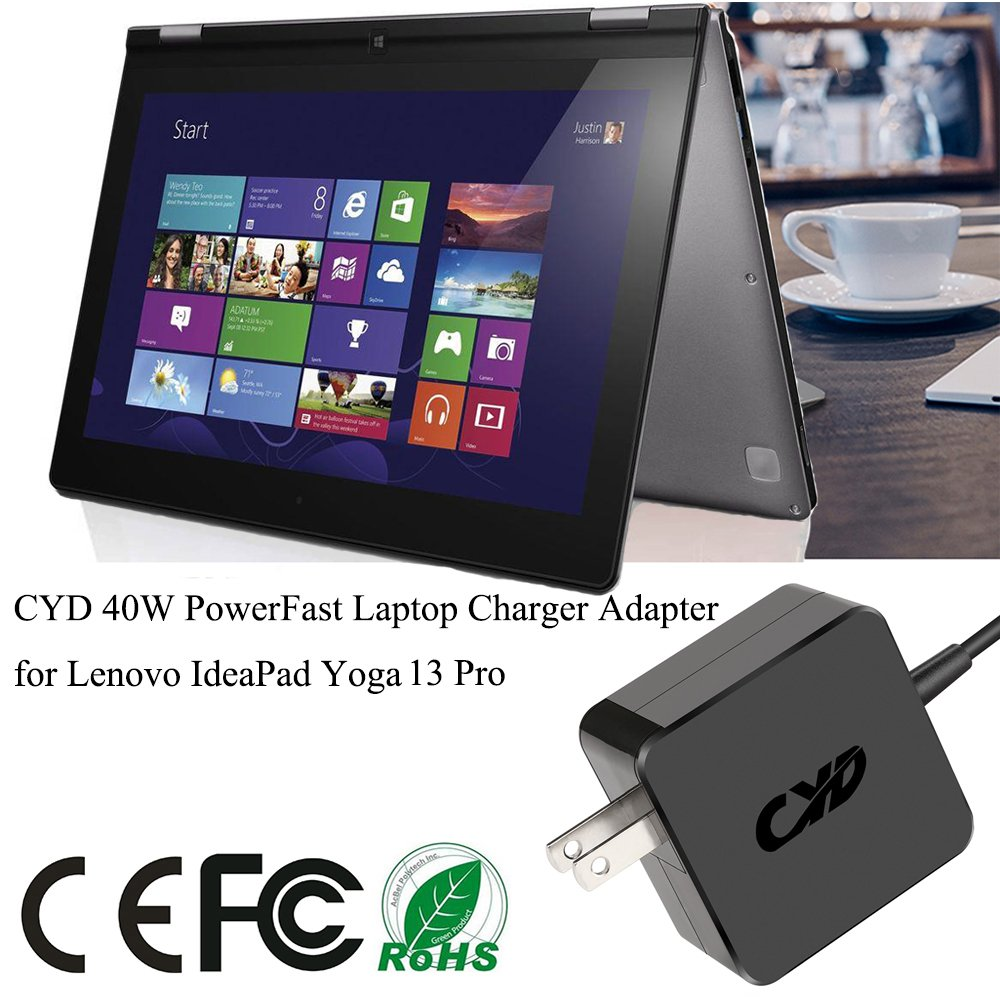 Amazon.com: CYD 65W 20V 3.25A PowerFast-Replacement for ...