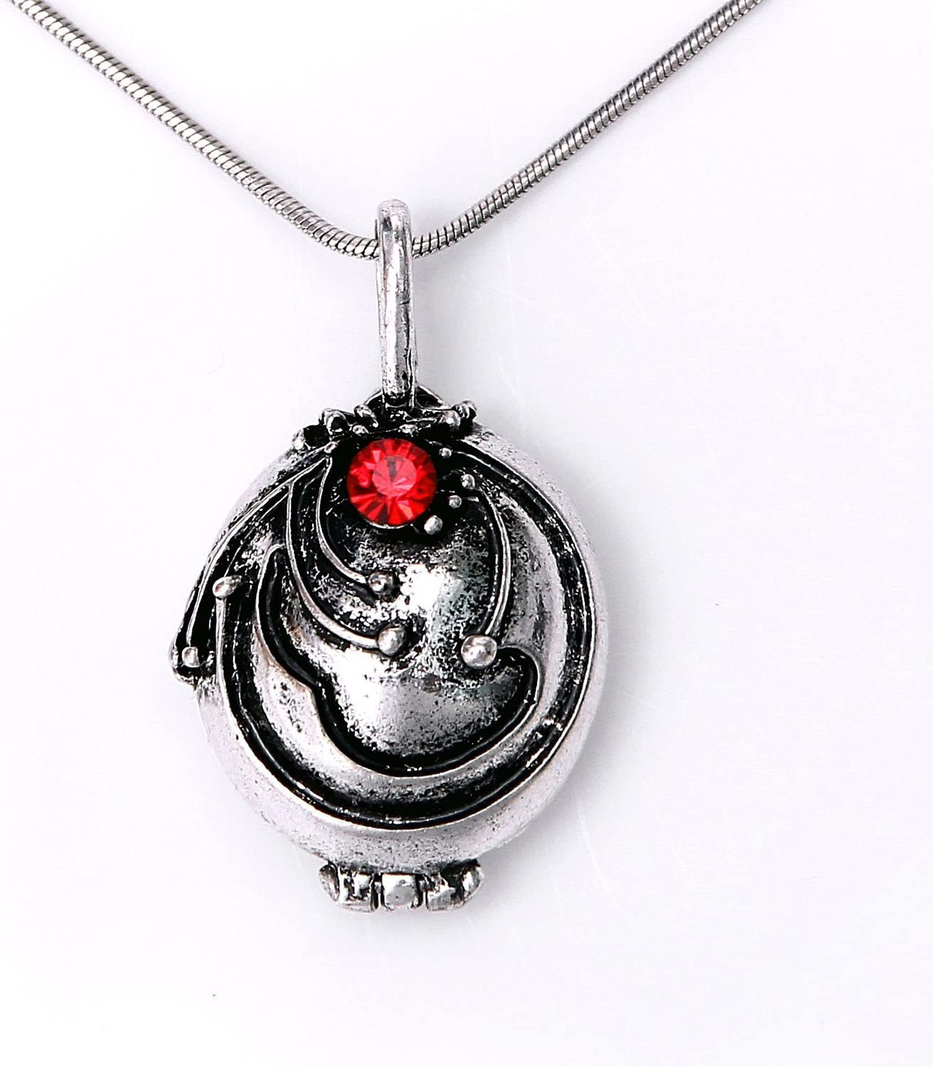 Amazon.com: Elena's Vervain Pendant Anti-Vampire Silver Plated Necklace:  Toys & Games