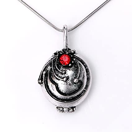 Amazon.com  Elena s Vervain Pendant Anti-vampire Silver Plated Necklace   Toys   Games 72b01b2acdd74