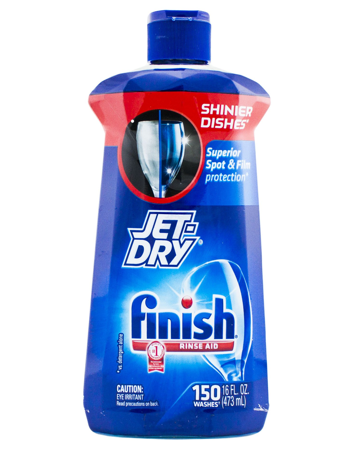 Finish Jet Dry Rinse Aid, Dishwasher Rinse Agent, 16 Ounce (Pack of 3)