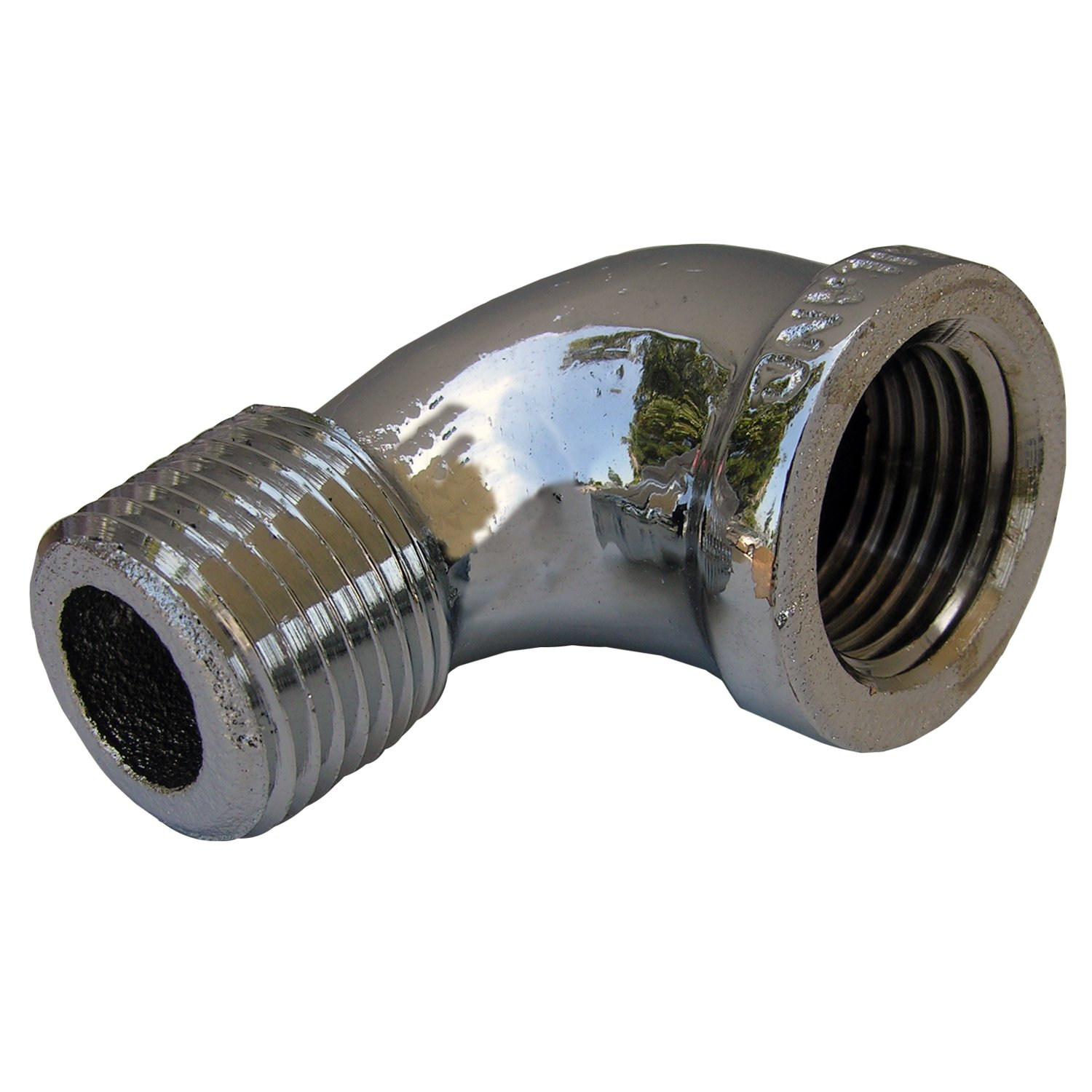 LASCO 32-0089 1//2-Inch Female Pipe Thread Chrome Plated Brass 90-Degree Street Ell//Elbow