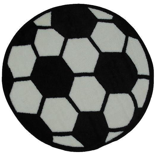 FindingKing Redondo de balón de fútbol Alfombra 39