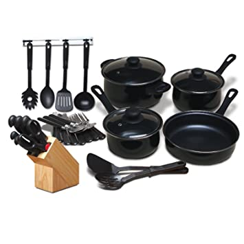 kitchen set online shopping india chef piece combo black flipkart total