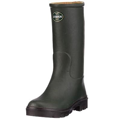 691c1822bd Le Chameau Junior Children's Wellington Boots BCB1629 Unisex Green ...