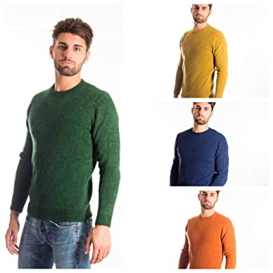 8ea9b3d770358 40 WEFT Sweater Anselmo Man Roundneck Made in Italy Season F W 17-18 ...
