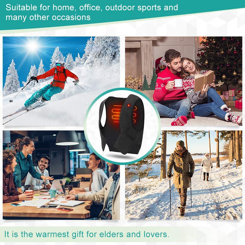 calentadores de cuerpo chaleco acolchado al aire libre Chaleco de invierno para mujer ligero y plegable