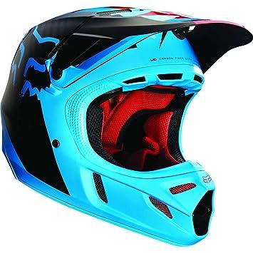 Casco Mx Fox V4 Libra Azul-Rojo (S , Azul)