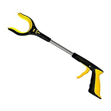 RMS 19  Grabber Reacher   Rotating Gripper   Mobility Aid Reaching Assist Tool   Trash Picker, Litter Pick Up, Garden Nabber, Arm Extension   Ideal for Wheelchair and Disabled