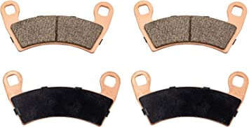 EPI Heavy-Duty Brake Pads Rear for POLARIS RZR S 1000 2016-2017