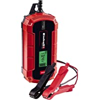 Einhell 1002225 Cargador de baterías, Rojo, Negro