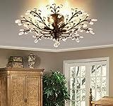 Ganeed Crystal Ceiling Light,Vintage