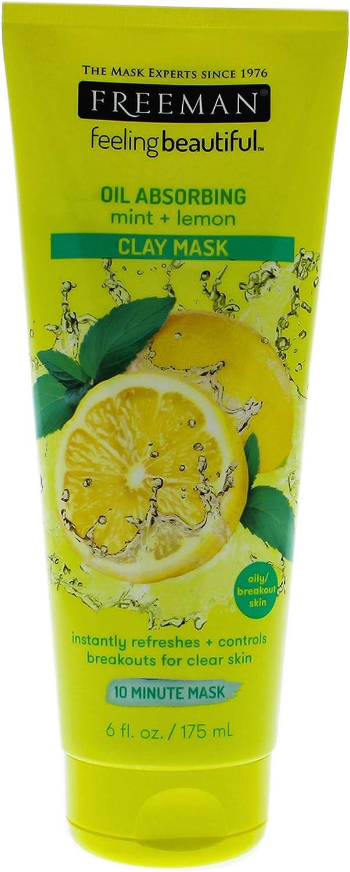 Freeman Mascarilla Facial de Menta y Limón - 175 ml