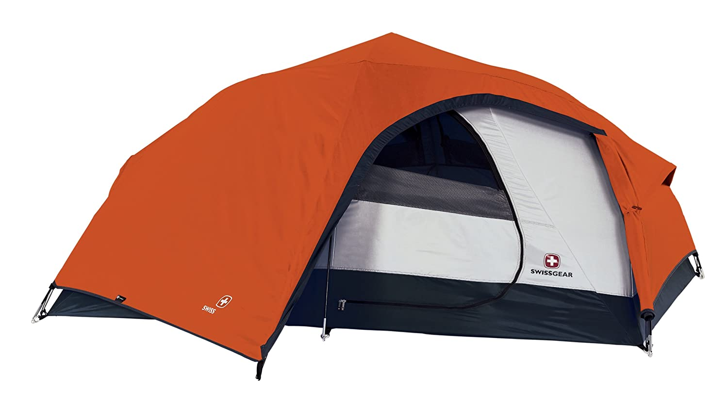 Amazon.com  Swiss Gear Niesen Hiker Tent (Orange/Grey)  Sports u0026 Outdoors  sc 1 st  Amazon.com & Amazon.com : Swiss Gear Niesen Hiker Tent (Orange/Grey) : Sports ...