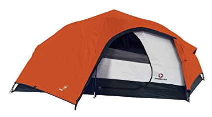 Swiss Gear Niesen Hiker Tent (Orange/Grey)  sc 1 st  Amazon.com & Amazon.com : Swiss Gear Niesen Hiker Tent (Orange/Grey) : Sports ...