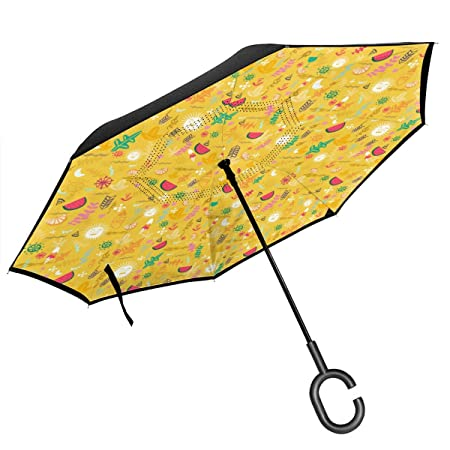 Csiemns Spring Breeze Paraguas invertido invertido invertido ...