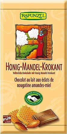Rapunzel miel y el chocolate con leche de almendras de cacao 35 ...