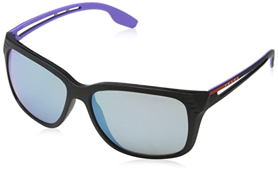 089abe55d8 Image Unavailable. Image not available for. Color  Prada Linea Rossa Men s PS  03TS Sunglasses 59mm