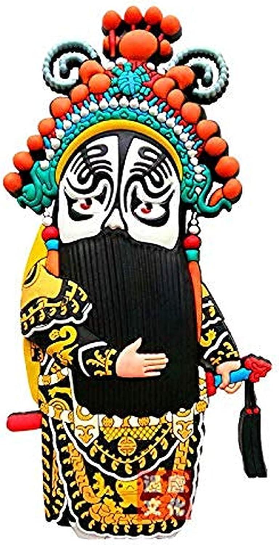 Mauvmr Creative Creative Cartoon Texas Refrigerator Sticker, Used in Refrigerators, Kitchen, Lockers, 2 Home Decoration Magnets