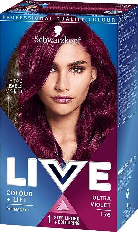 Schwarzkopf Live Intensivo Tinte de pelo color Plus Lift Ultra ...